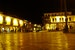 Nightlife in Cusco's Main Plaza