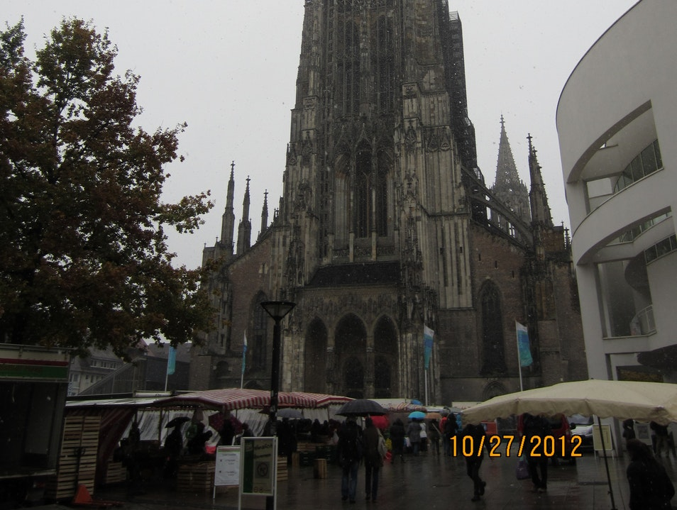 Tallest Church in the World Ulm  Germany