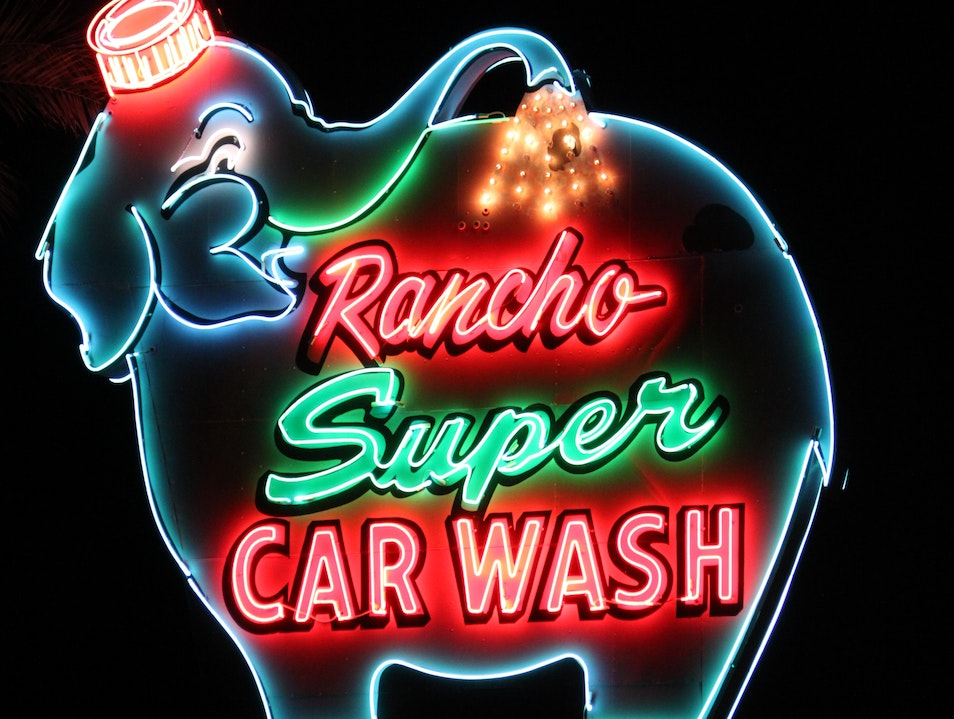 Neon from a Bygone Era Rancho Mirage California United States