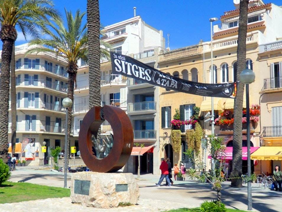 Sunny May Day in Sitges Sitges  Spain