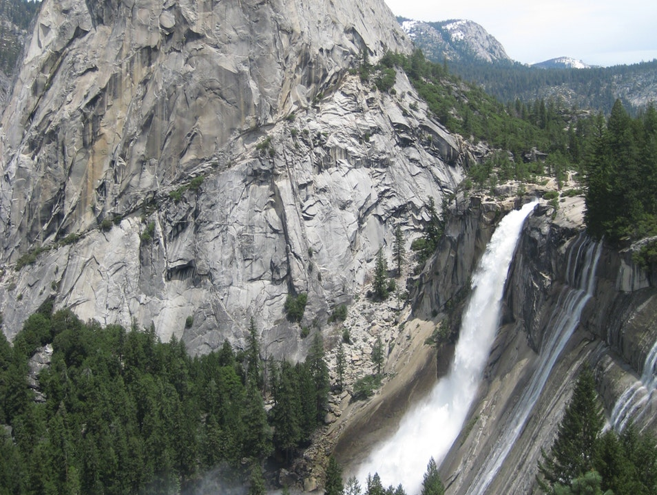 View from Nevada Falls, Yosemite