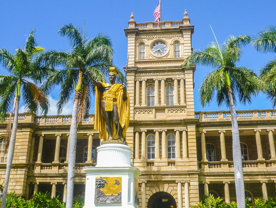 History and Modern Culture in One Place Honolulu Hawaii United States