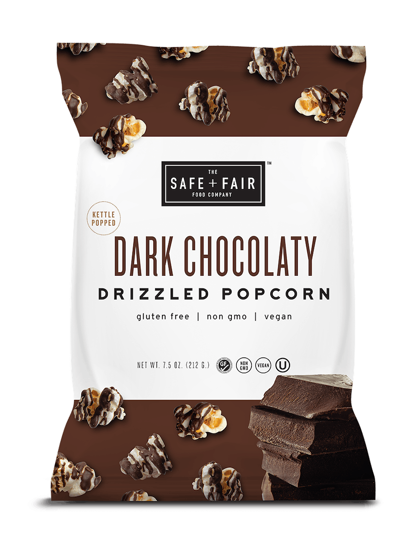Pair the antioxidants in dark chocolate with the complex carbohydrates in popcorn for a highly addictive treat.