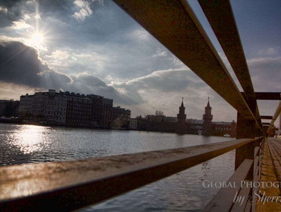 Walk the River Spree in Berlin Berlin  Germany