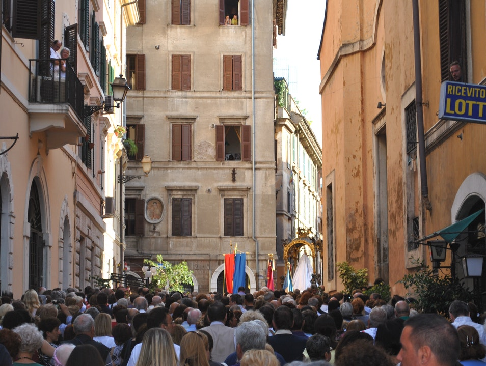 Trastevere - a moment in time