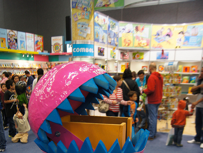 A Book Fair for Kids in Mexico City