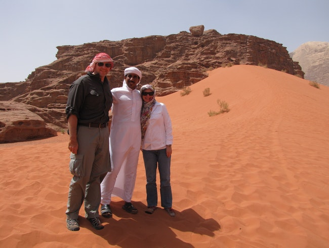 Camping and Trekking in Wadi Rum