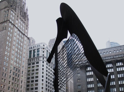 "Sculpture ""The Picasso"" Chicago Illinois United States"