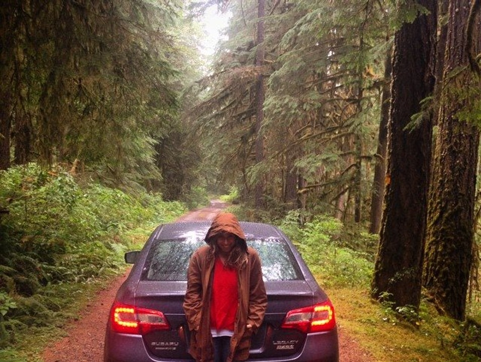 Subaru Road Trip Day 2: Get Lost in a National Forest Idleyld Park Oregon United States