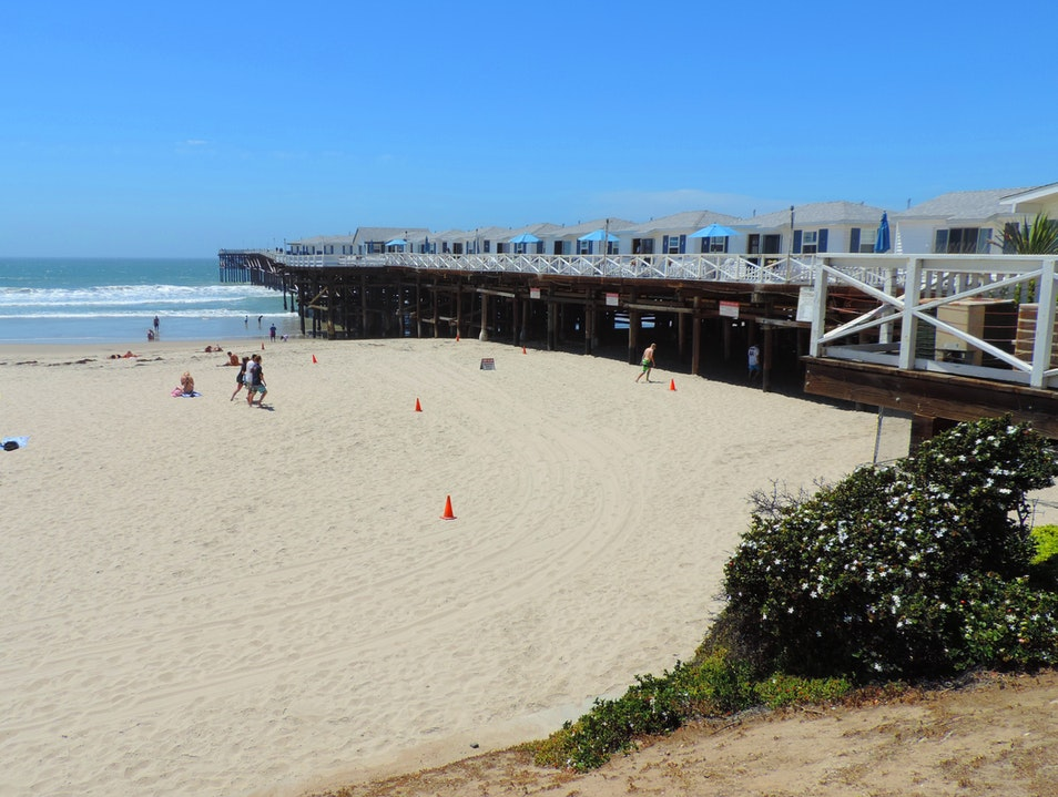 Stay in a cottage on Crystal Pier