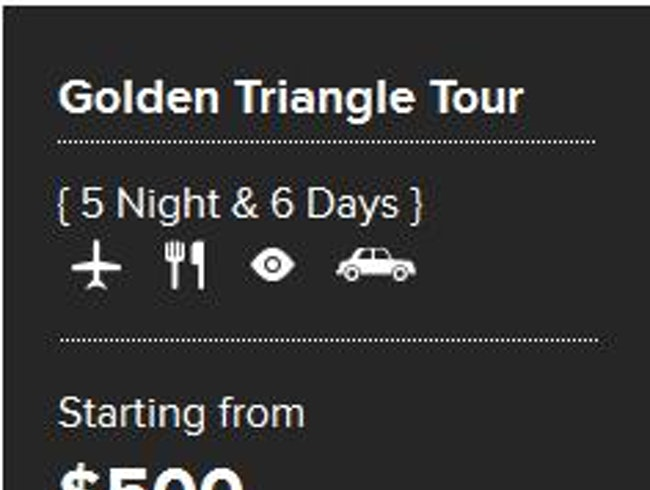 Golden Triangle Tour from Festive Tours