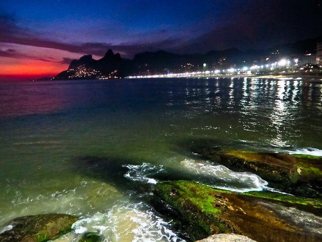 Forte de Copacabana - after the sunset, Rio