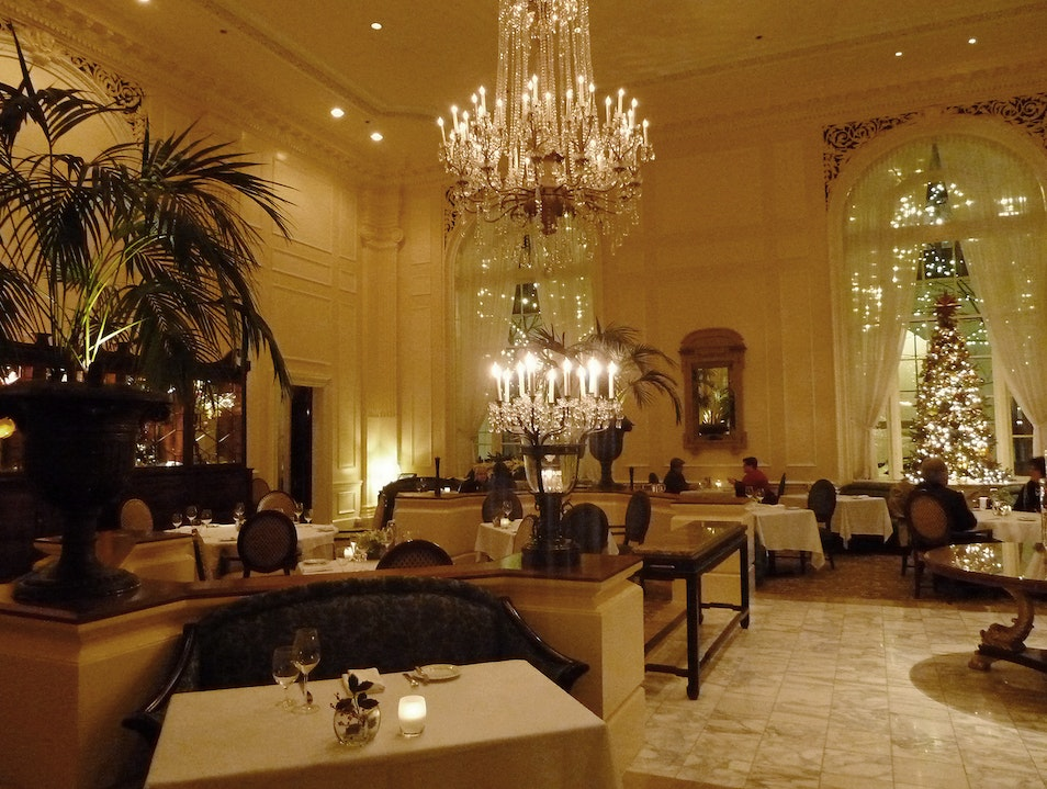 Dine in Grand Style at the Georgian Seattle Washington United States