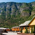 Toget Café Aurland  Norway
