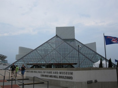 Rock and Roll Hall of Fame and Museum Cleveland Ohio United States