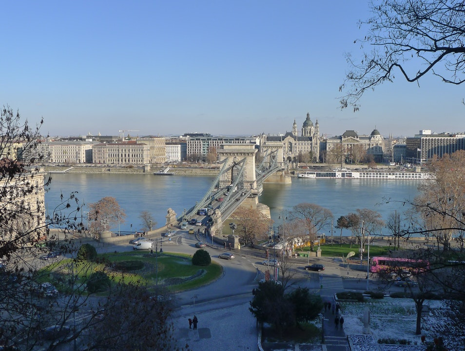 View from the Castle Budapest  Hungary