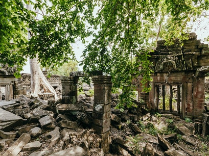 Sleep Beside an Unexplored Angkorian Temple Banteay Chhmar  Cambodia