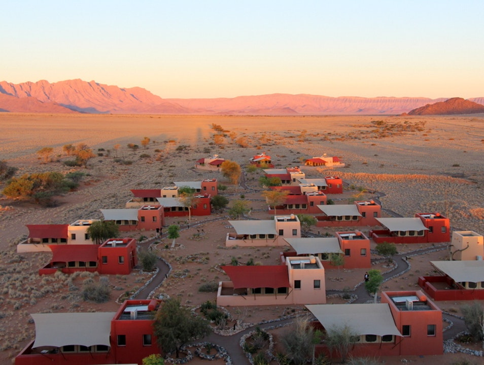 A Feast for Stomach and Soul in the Namib Desert Sesriem  Namibia