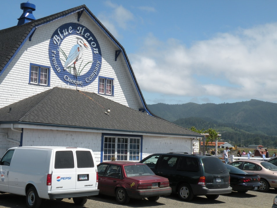 Great place to stop for local cheese and wine in Oregon Tillamook Oregon United States