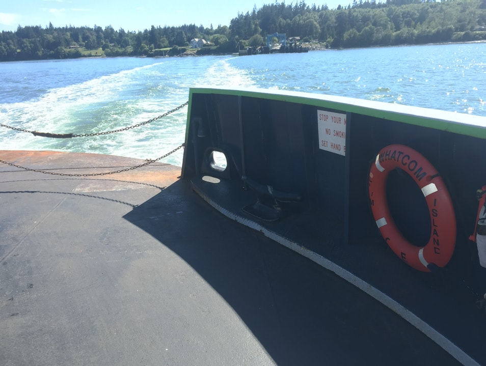 Ferry to Lummi Island Lummi Island Washington United States