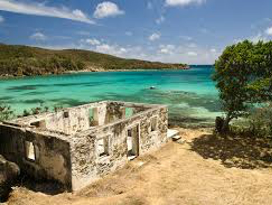 Lameshur Bay Beach, Virgin Islands National Park, St. John Central  United States Virgin Islands