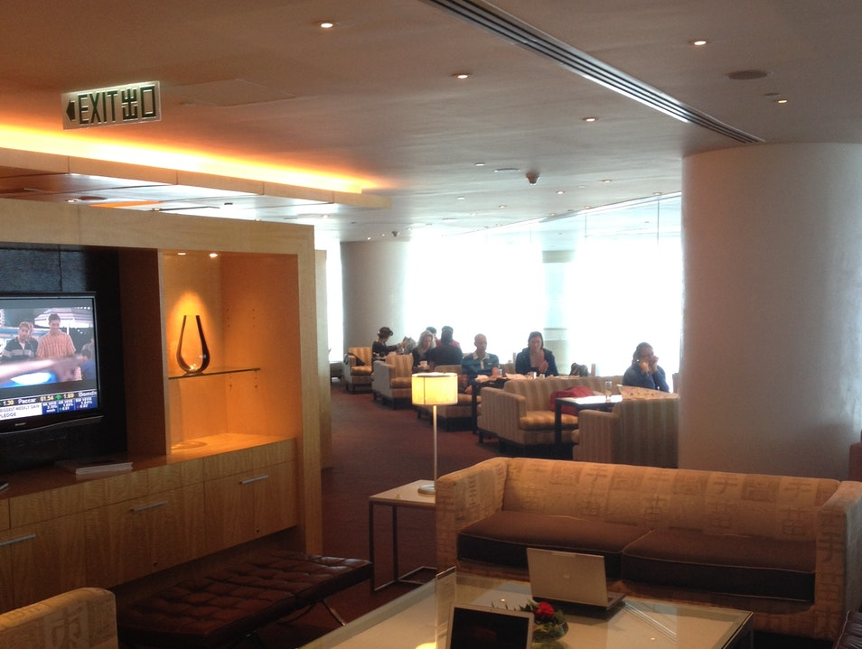 The Club InterContinental Lounge Tsim Sha Tsui  Hong Kong