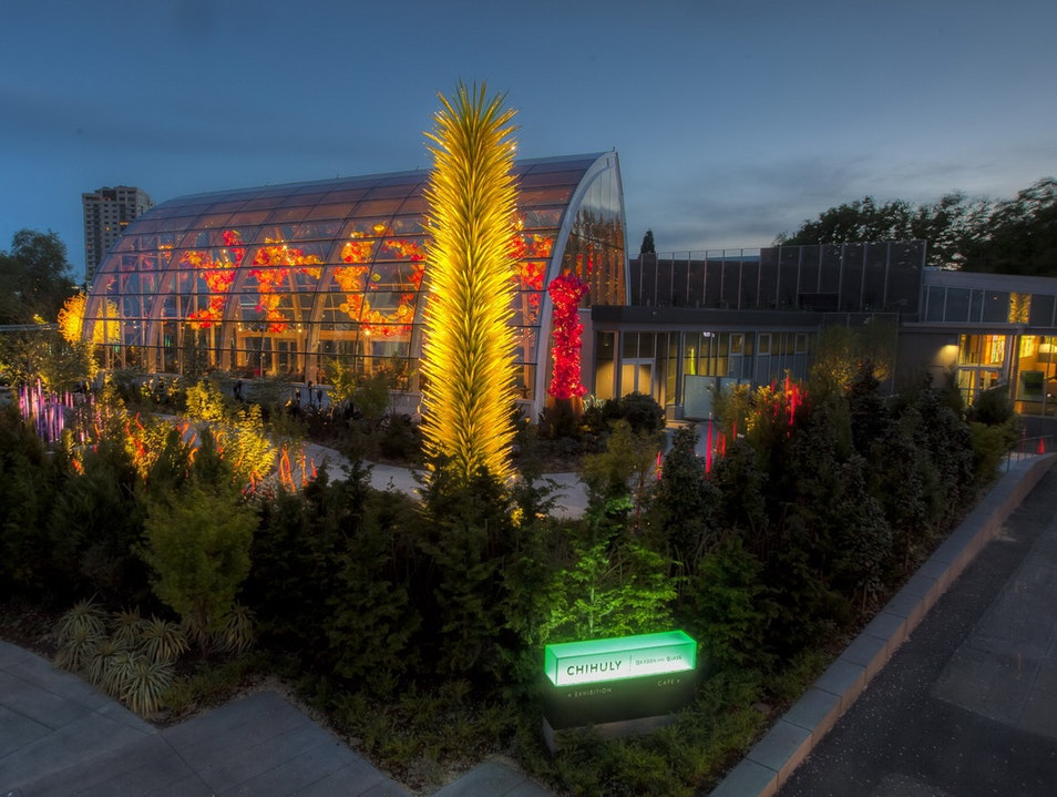 Chihuly Garden and Glass Seattle Washington United States
