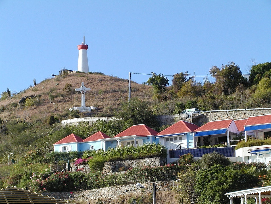 Island History and Views from Fort Gustave   Saint Barthélemy