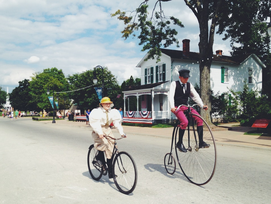 Step Back in Time at Greenfield Village Dearborn Michigan United States