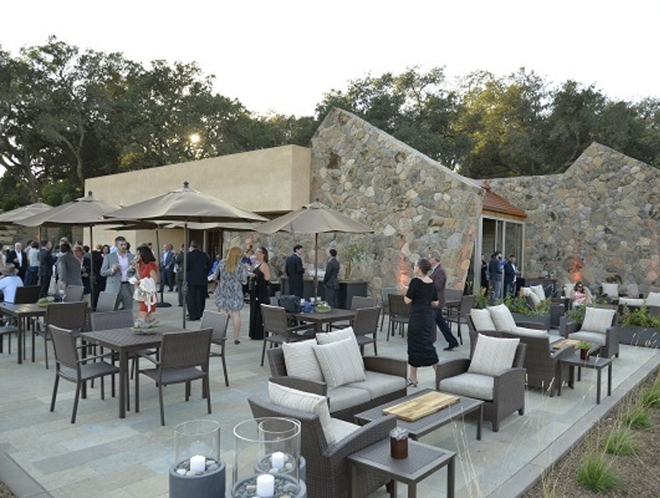 Stag's Leap Wine Cellar's New FAY Outlook & Visitor Center is Splendid