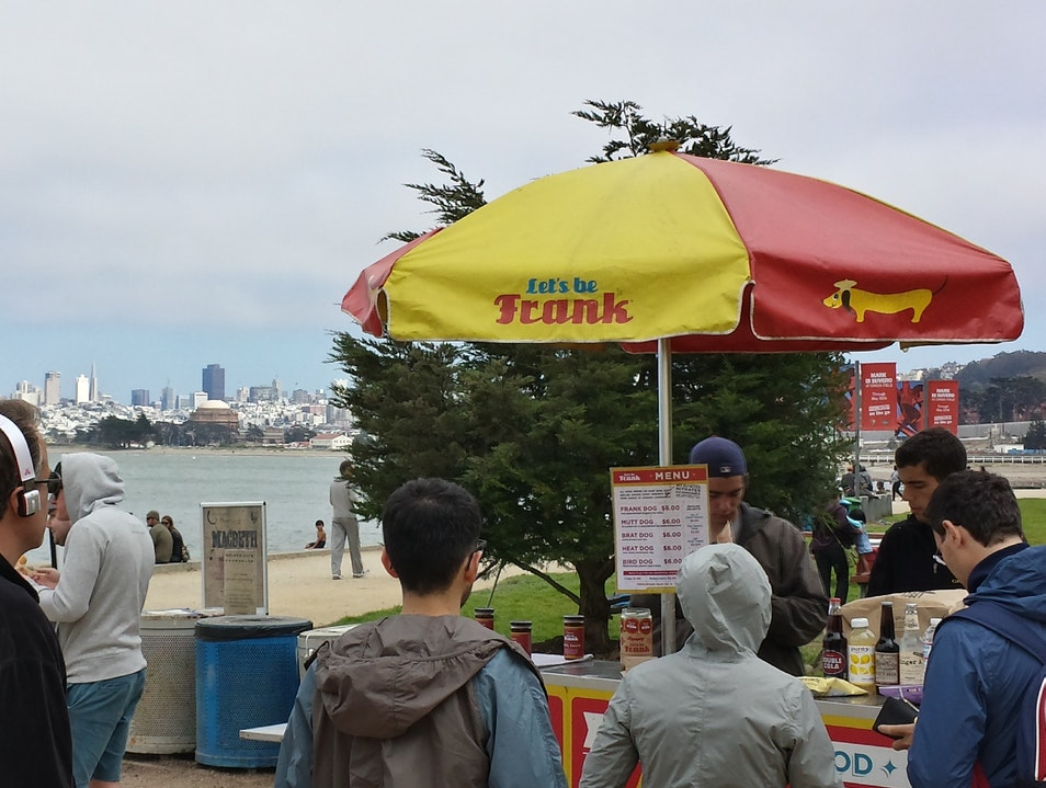 Hot Dogs with a View San Francisco California United States