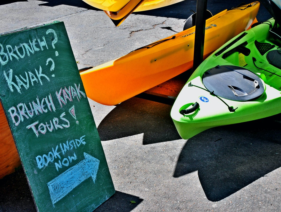 Brunch Kayaking on the Lake Tahoe City California United States