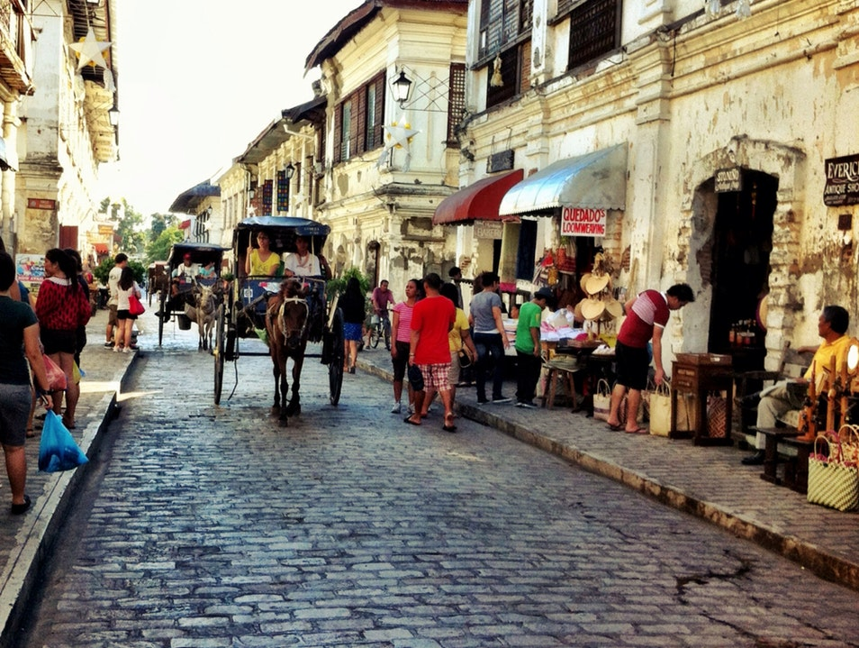 History and Souvenirs Vigan City  Philippines