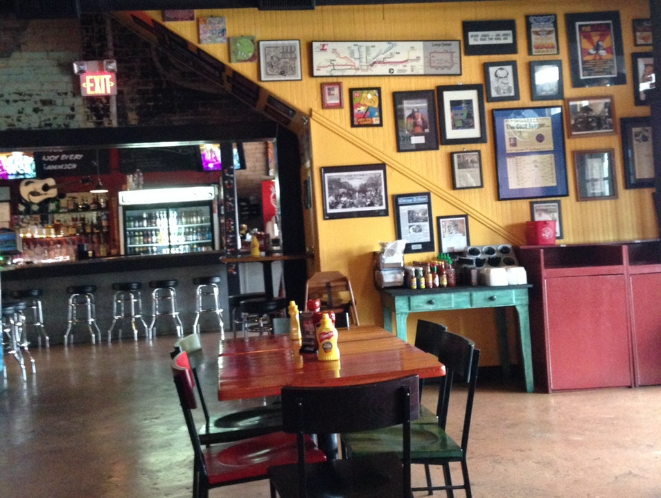 Great place for lunch in Deep Ellum Dallas Texas United States