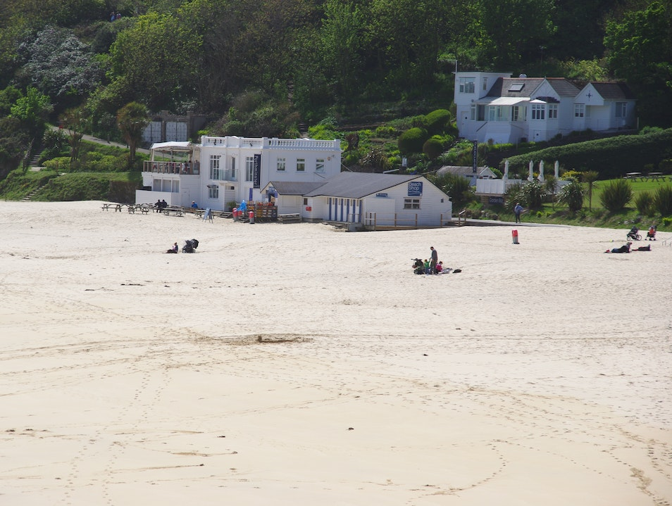 A Meal with a View- Porthminster Beach Cafe St. Ives  United Kingdom