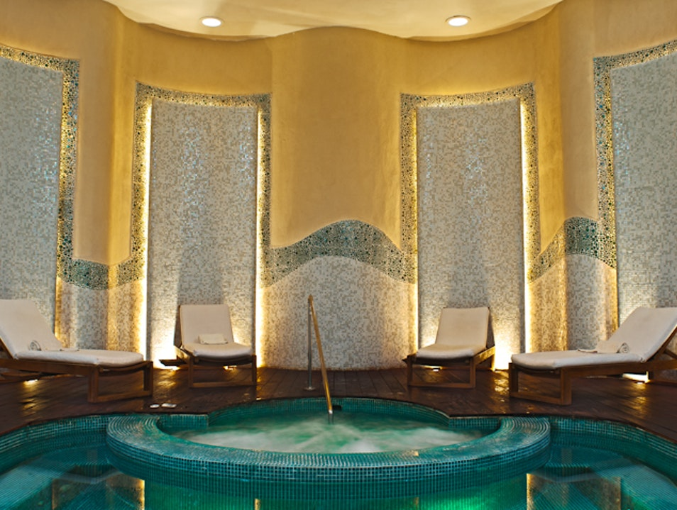 Relax in the Luxurious Spa at the Emerald Bay Resort Mazatlan  Mexico