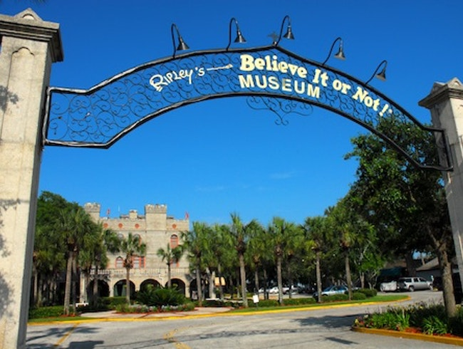 St. Augustine is home to the original Ripley's!