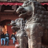 People Watching in Durbar Square
