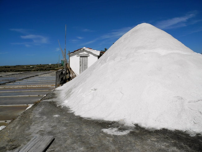 The Aveiro Salt Pans
