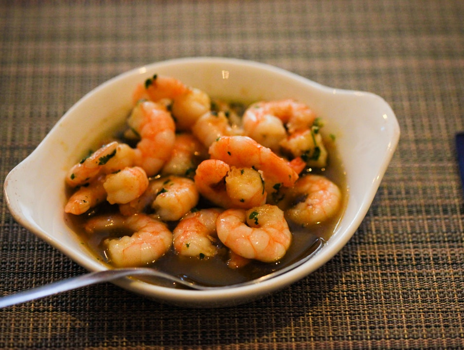 Portuguese Petiscos (small eats) and good wine