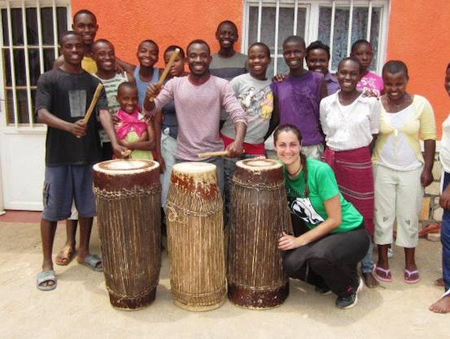 An afternoon of Rwandan drum and dance