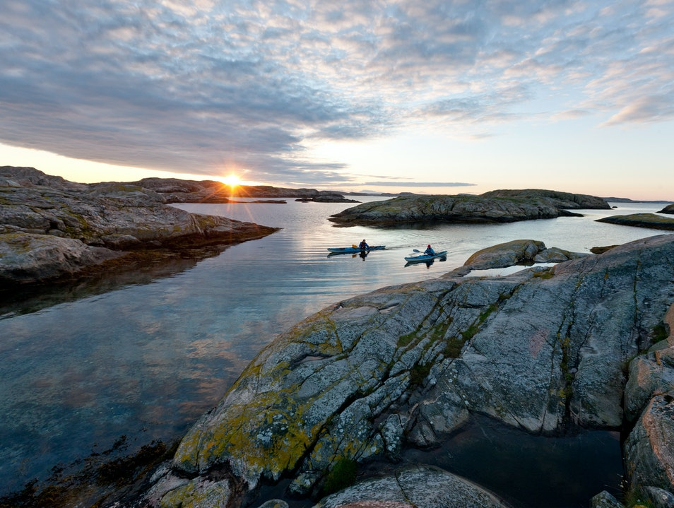 Kayak the Archipelago Tjörn S  Sweden