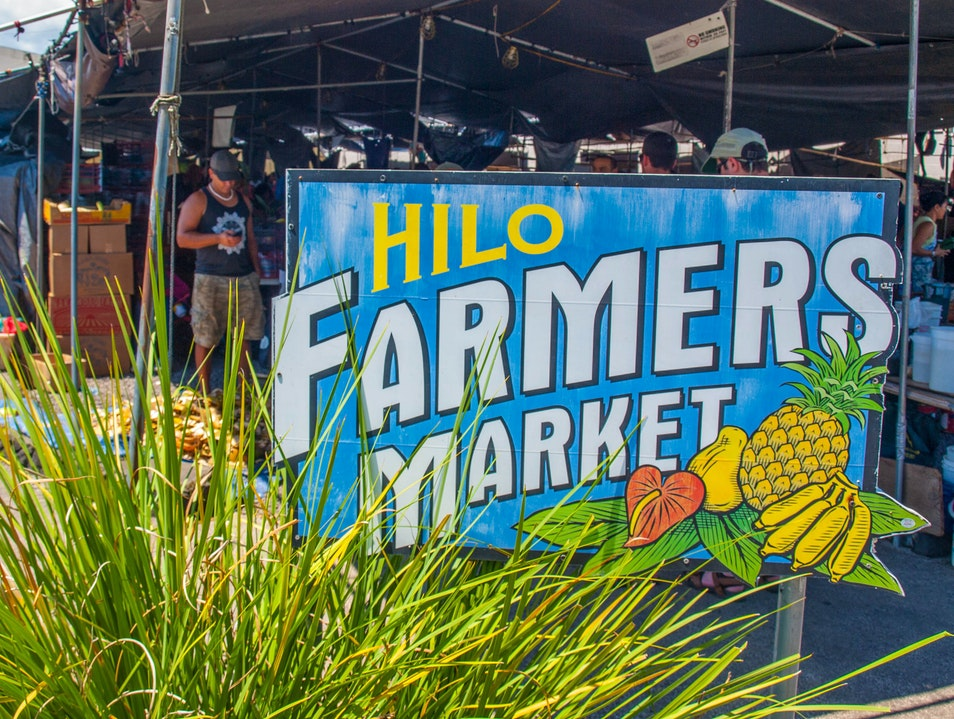 The Best of the US: Hilo Farmers Market Hilo Hawaii United States