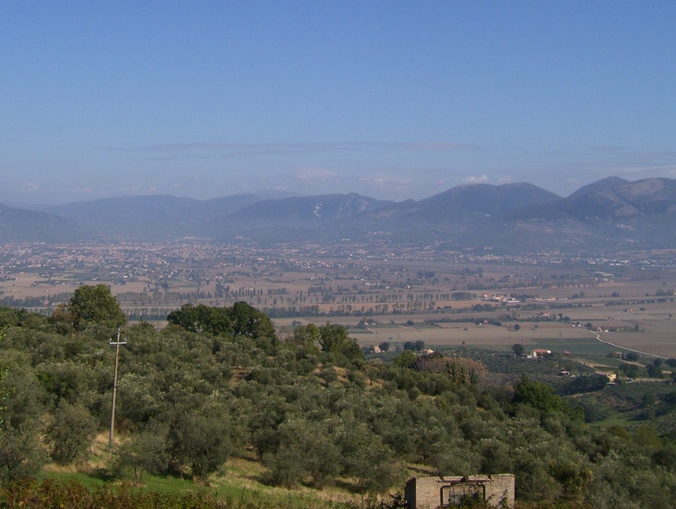 Enjoy sweeping views of Umbria from Montefalco