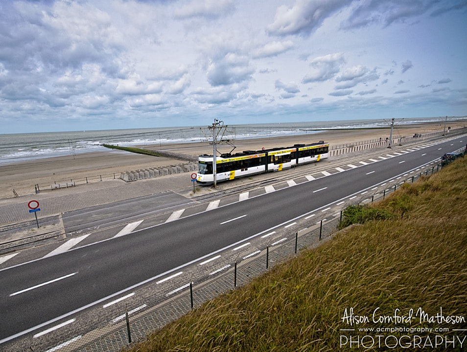 Ride the World's Longest Tram Route on the Belgian Coast Ostend  Belgium