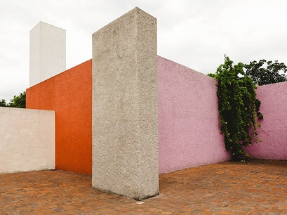 Casa Estudio Luis Barragán Mexico City  Mexico