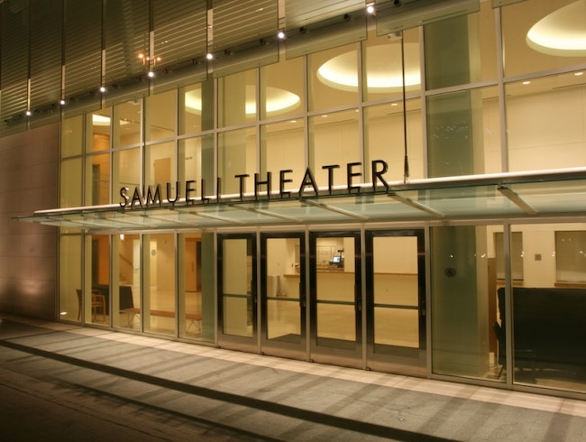 Samueli Theater: A Powerhouse of Design and Culture