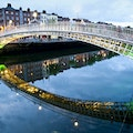 Ha'penny Bridge   Ireland
