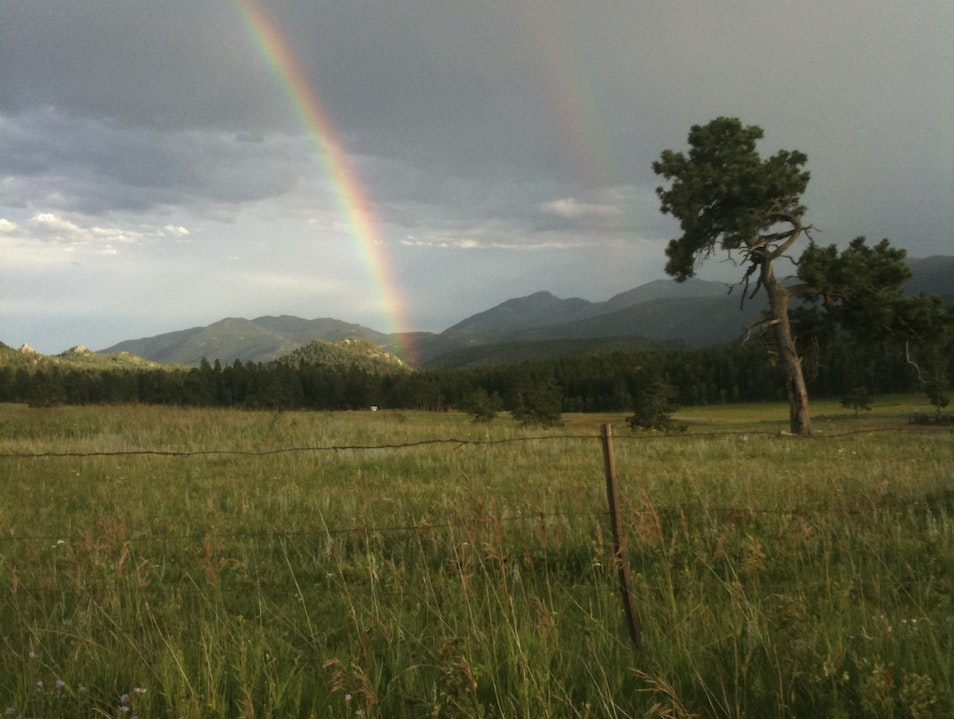 Double Rainbow Boulder Colorado United States