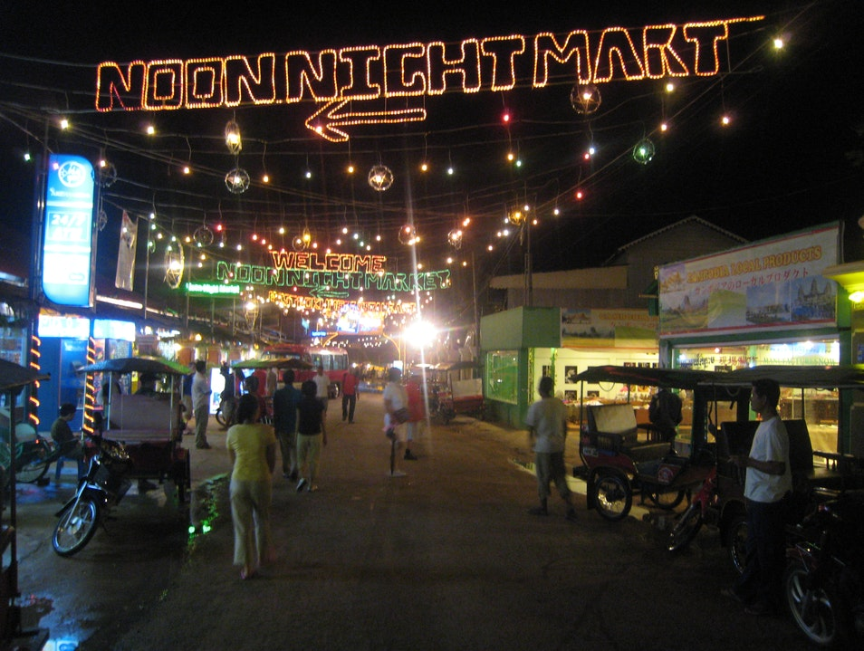 Night Market of Siem Reap Siem Reap  Cambodia